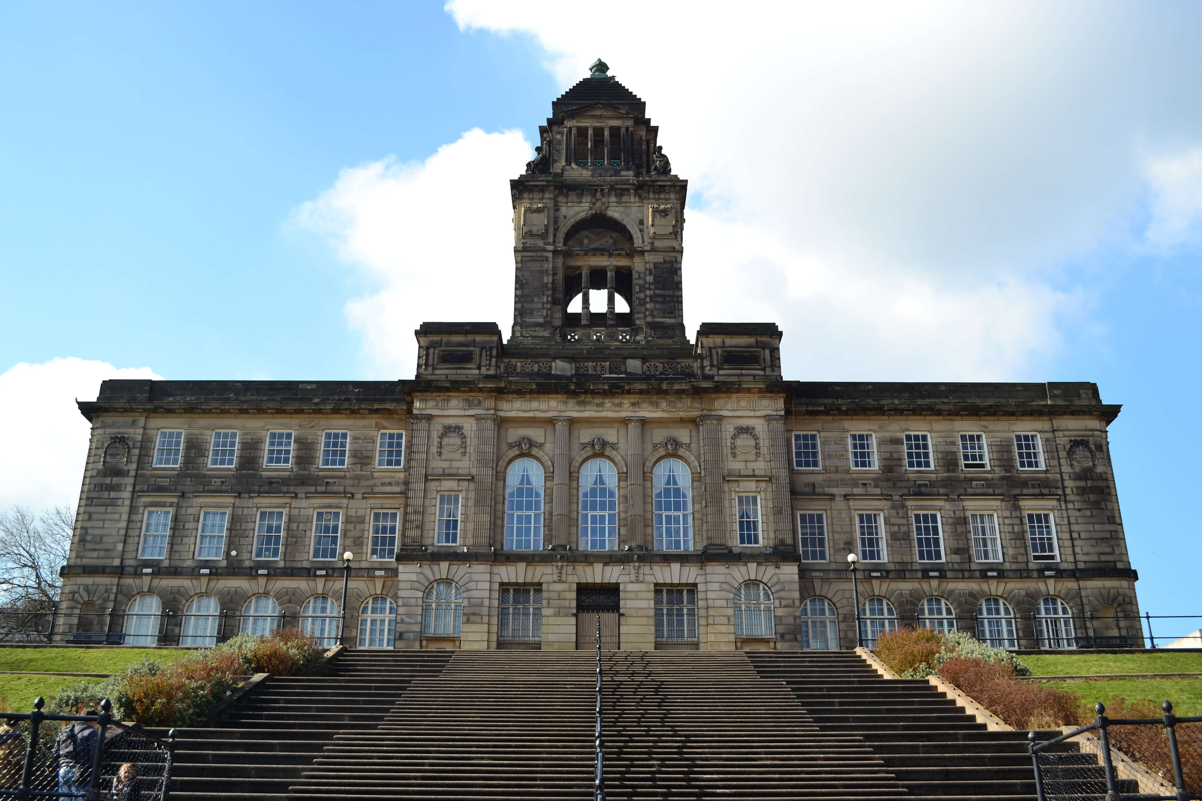 External view of a local authority building, Wallasey Town hall